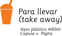 Para llevar (take away)